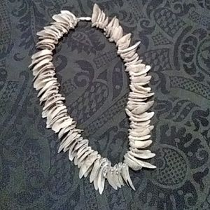 """Jewelry - 19"""" Shattered Shell Necklace"""